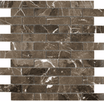 Hoilan Polished Brown Marble Mosaic Tiles