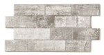 Interlocking Grey Brick Effect Wall Tile