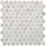 Italia Marble Hexagon Mosaic Tiles