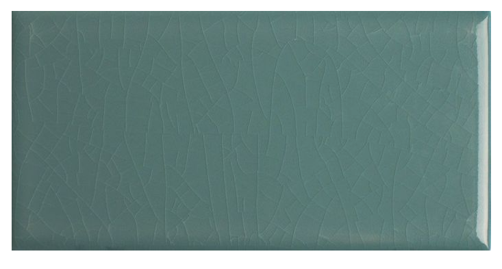 Kai Craquele Green Metro Wall Tiles