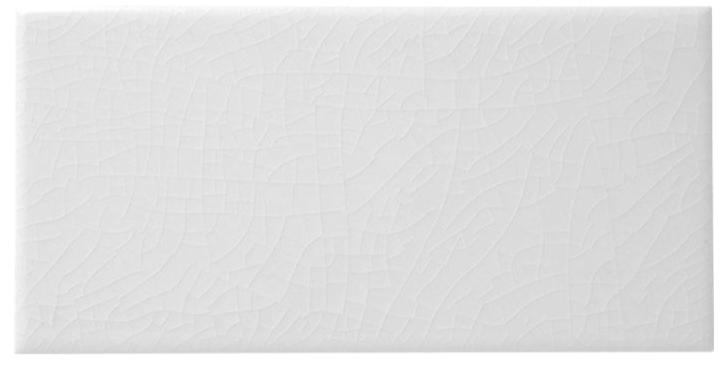 Kai Craquele White Metro Wall Tiles