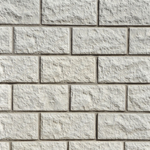 Koping Antique White Finished Stone Walling