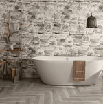 Large Rich Ash Wood Effect Tiles
