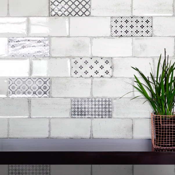 Light Urban Rustic Flat Metro Tiles