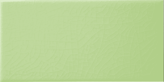 Lime Green Smooth Crackle Glaze Metro Tiles