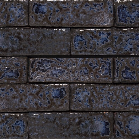 Lush Kyanite Glazed Brick Slips