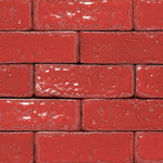 Lush Red Garnet Glazed Brick Slips