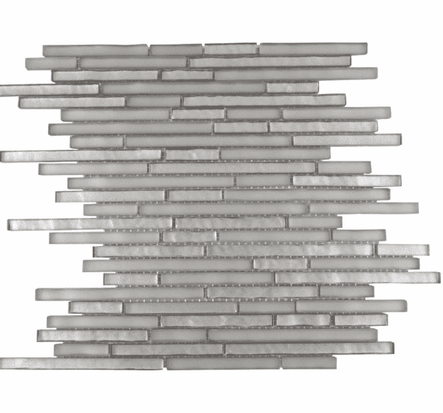 Majestic Premium Pencil Grey Mosaic Tiles