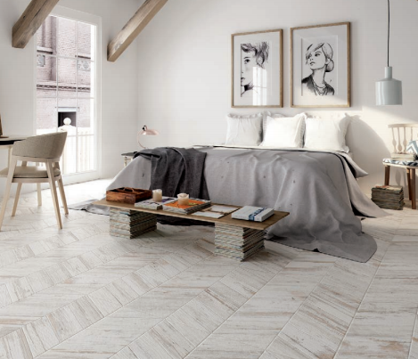 Manhattan Blanco Wood Effect Tile