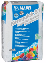 Mapei Quick Set S1 Grey Adhesive 20kg