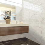 Marble Effect Bevelled 20 x 10 Metro Tiles