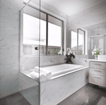 Marble Effect Flat Gloss 30 x 10 Metro Tiles