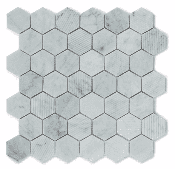 marble-hexagon-mosaic-tiles