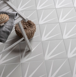 Marine Grey Patterned Tiles