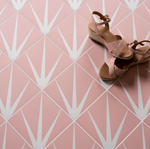 Marine Pink Patterned Tiles