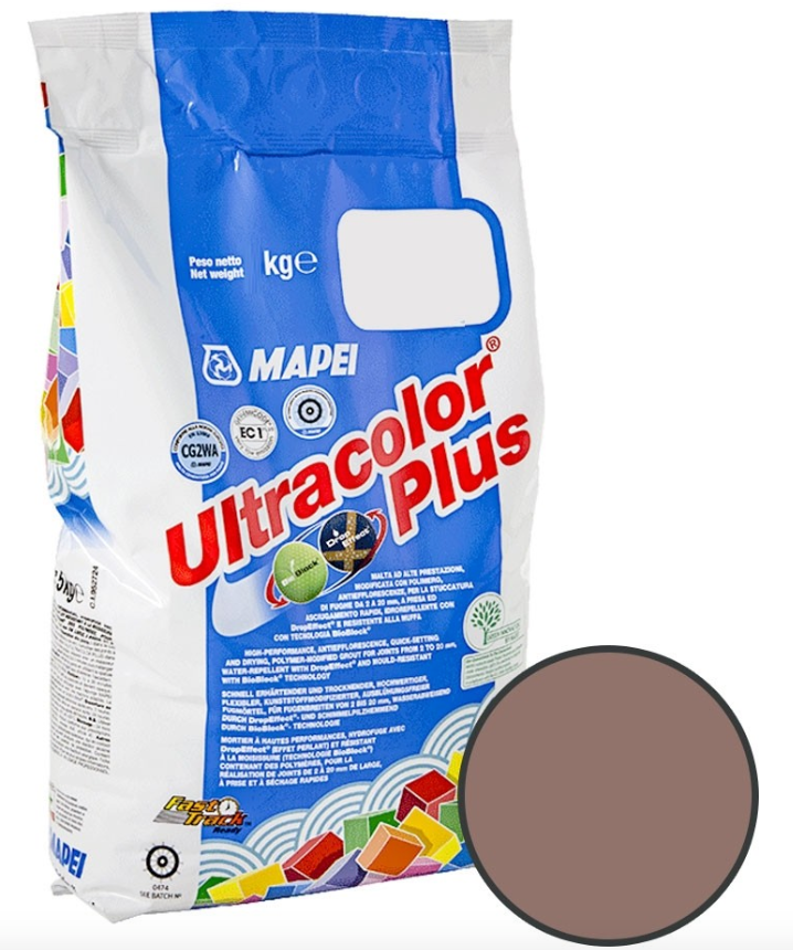 Medium Brown Floor And Wall Grout 2KG