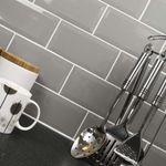 Medium Grey Metro Wall Tiles