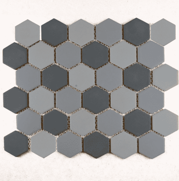 medium-grey-mix-matt-hexagon-mosaic-tiles