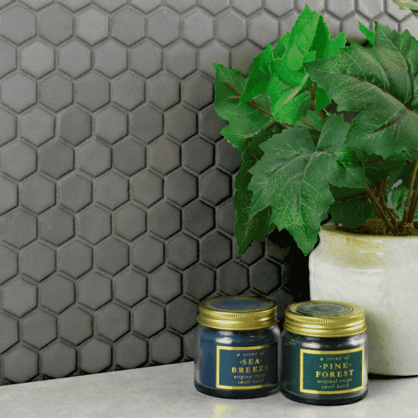 midnight-grey-matt-hexagon-mosaic-tiles