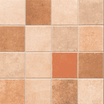 Mixed Terracotta Effect Floor And Wall Tile
