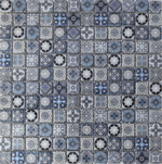 Moroccan Blue Colour Mosaics
