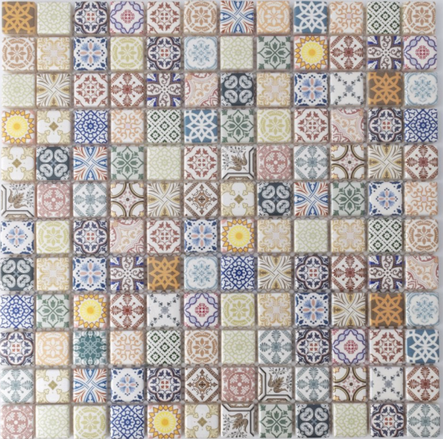 Moroccan Light Colour Mosaics