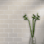 Mottled Grey Smooth 20 x 10 Metro Wall Tiles