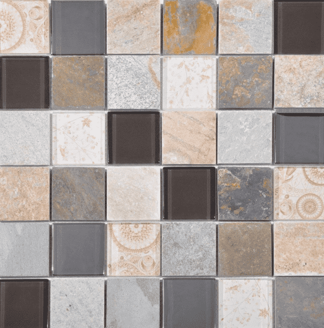 Narlek Mixed Beige Mosaic Tiles