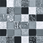 Narlek Mixed Silver Mosaic Tiles