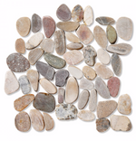 Natural Pebble Mosaic Tiles