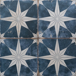 Night Star Blue Tiles