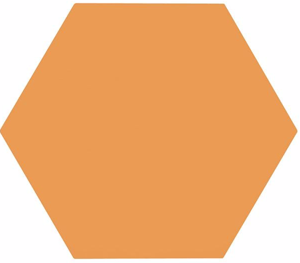 Orange Premium Hexagon Floor And Wall Tiles