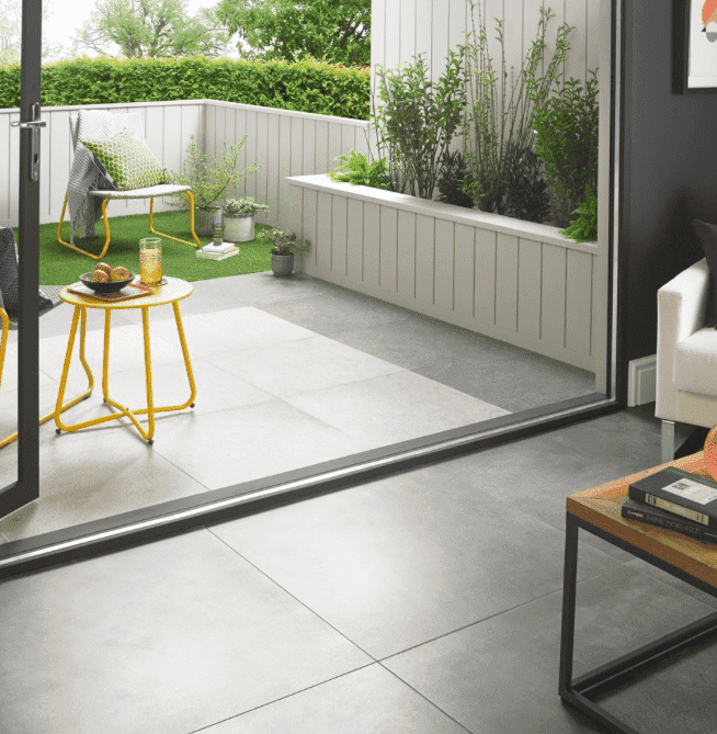 Oxley Anthracite Limestone Effect 20mm Exterior Tiles