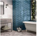 Paros Marine Blue Metro Wall Tiles