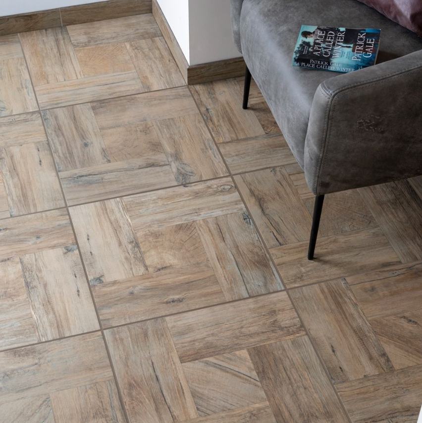 Parquet Hazel Skirting Wood Effect Tile