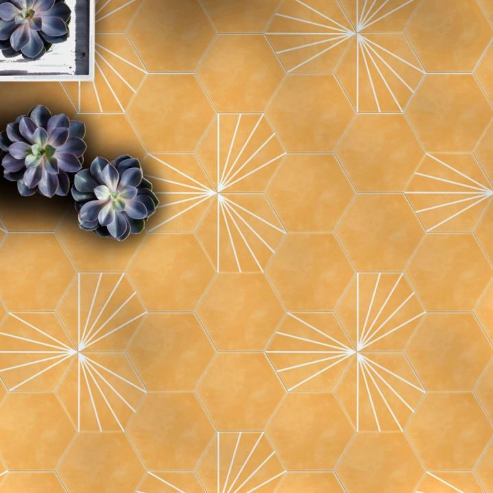 pastel-mustard-hexagon-pattern-tiles-2