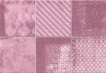 Pink Geometric Design Patterned Wall Tile