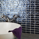 Platinum Black Foil Mosaic Tiles
