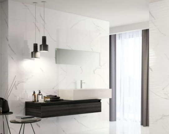 Polaris Marble Effect Matt Tiles