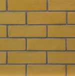 Premium Dark Yellow Uniform Brick Slips