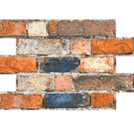 Reclaimed Rustic Mix Brick Effect Tile