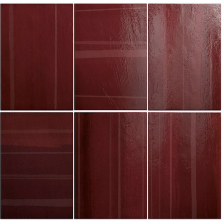Roma Deep Red Wall tiles