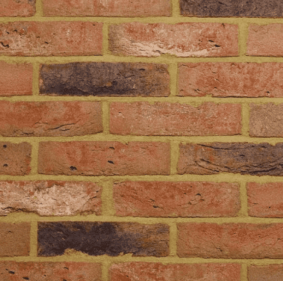 Rustic Brindle Brick Slips