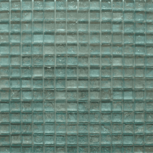 Rustic Green Glass Mosaic Tiles