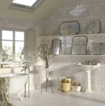Rustic Molten White Mix Wall Tiles