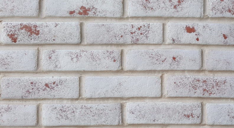 Rustic Red & White Brick Slips