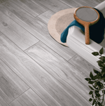 Silver Grey Wood Effect Tiles