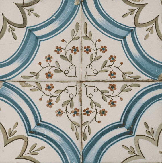 Sinergy Vintage Floral Patterned Tiles