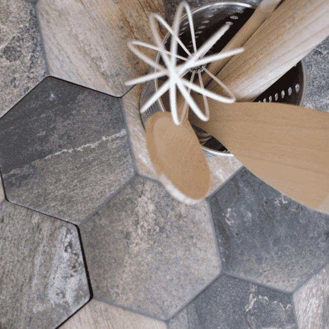 slate-effect-hexagon-tiles