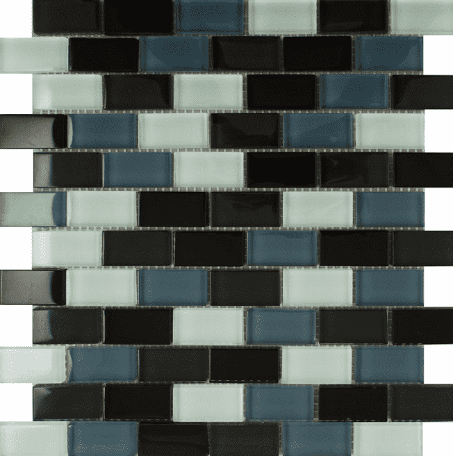 small-brick-black-glass-mosaic-tiles